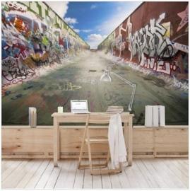 Vliesbehang Skate Graffiti (vanaf)