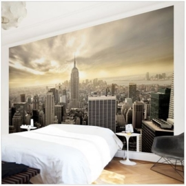 Vlies Fotobehang; Manhattan Dawn (vanaf)