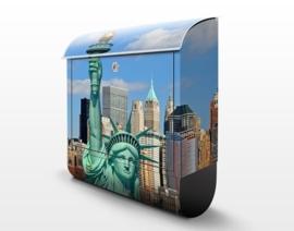 Design Brievenbus New York Skyline