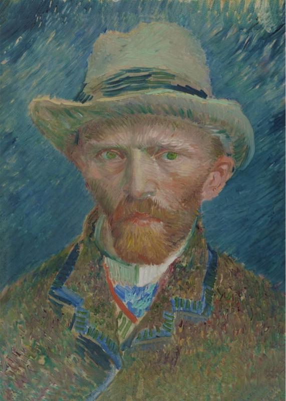 Wanddoek Van Gogh 130 x 185 cm