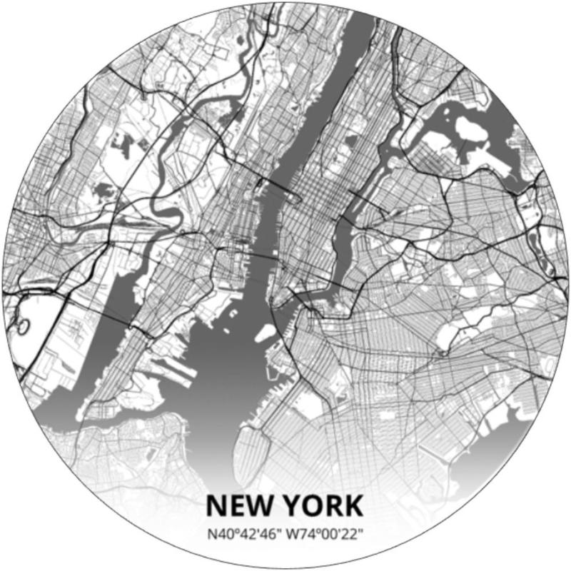 Behangcirkel New York