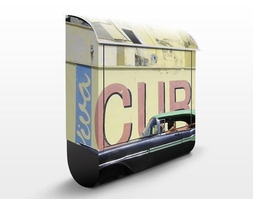 Design Brievenbus Show me Cuba