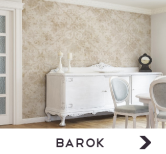 Behang met Barok print