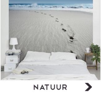 Behang met foto's uit de natuur