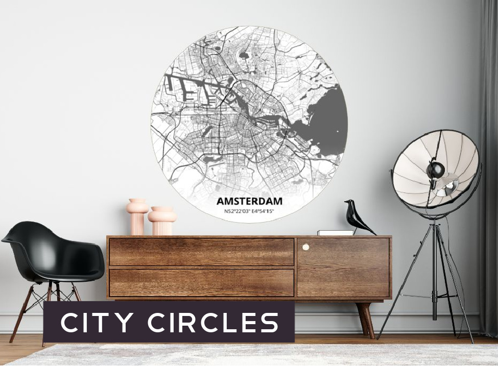 City Circles behangcirkels