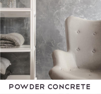 Powder Concrete Concrete Ciré betonlook