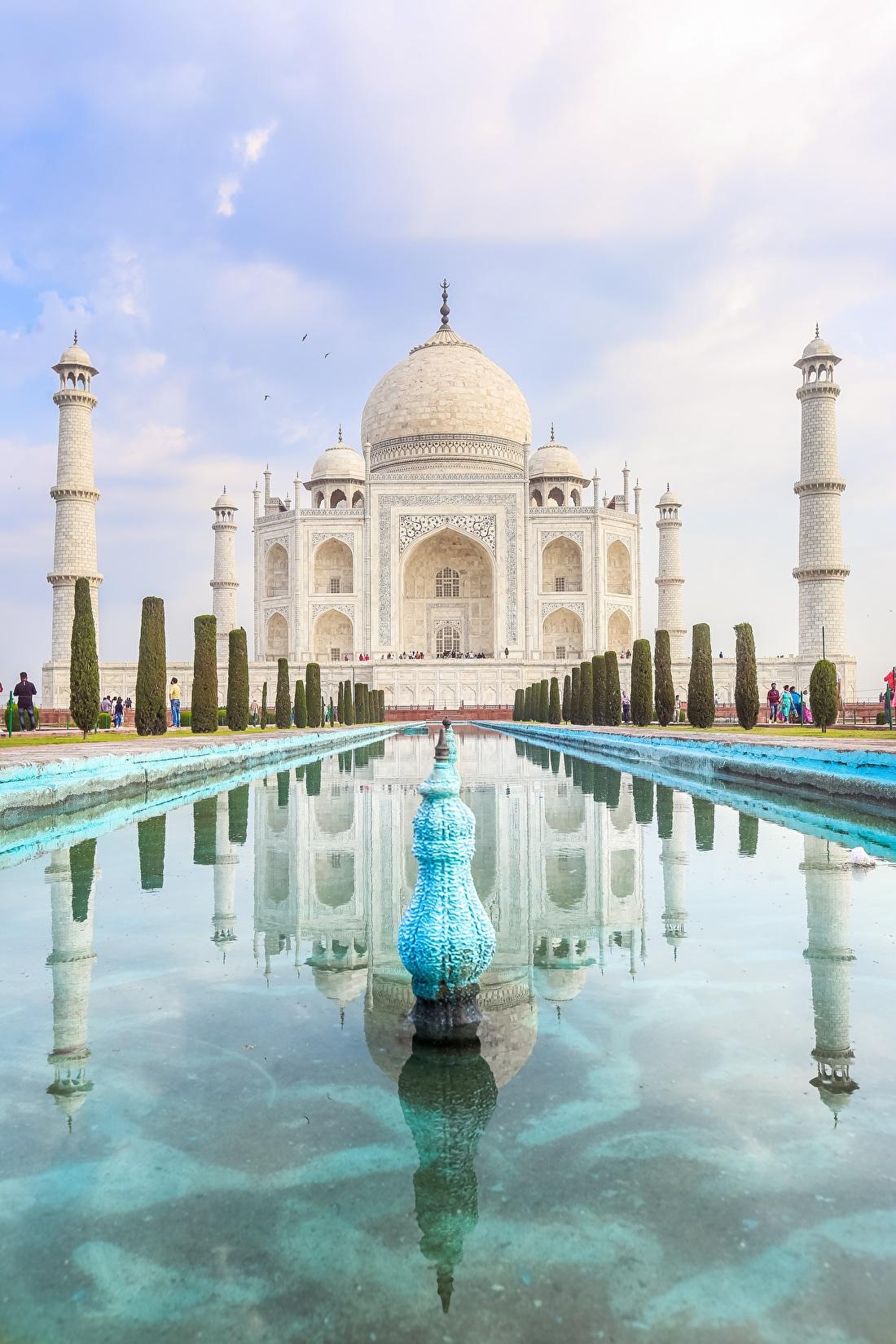 Taj Mahal aan de wand