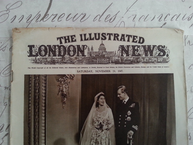 """Oude krant """" The illustrated London News"""""""