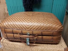 Franse rieten koffertje