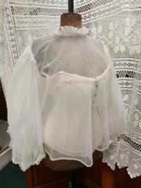 Doorzichtige vintage blouse