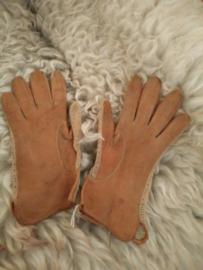 Vintage leren handschoenen