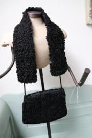 Set van mof en sjaal