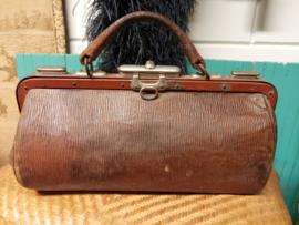 Antieke koffers en tassen