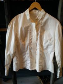 Creme blouse