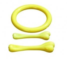 Nylonbone en nylonring