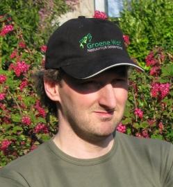 Groene Wolf Cap
