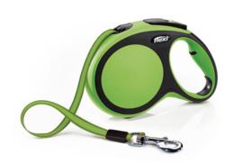 Flexi New Comfort L - Tape 8 meter / max 50kg Groen