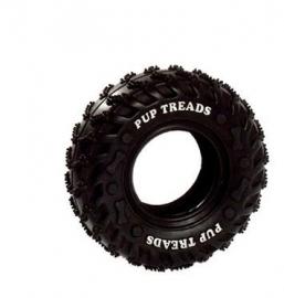 Autoband van stevig rubber