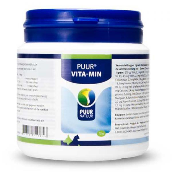 PUUR  Vitaminen en Mineralen/Vita-Min 75gr