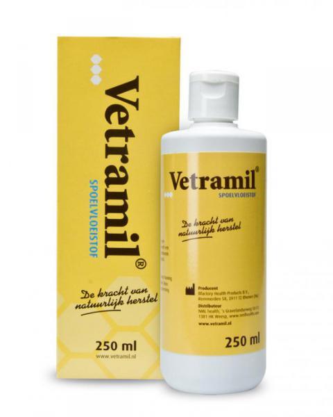 Vetramil Spoelvloeistof/Clean 100ml