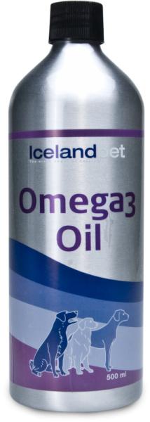 Icelandpet Omega-3 Olie/Oil 500ml