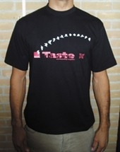 Taste snowboard magazine Oxbow t-shirt