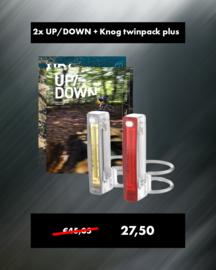 UP/DOWN Cadeaupakket - Knog verlichting