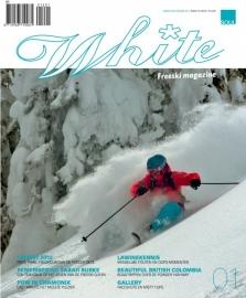 White freeski magazine cadeau abonnement cheque
