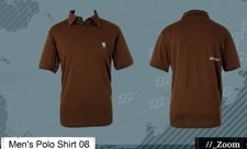 North Kiteboarding Polo Chocolat