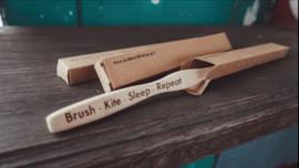 Kitesurfer bamboe tandenborstel
