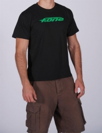 F-One t-shirt zwart/groen maat M