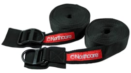Northcore spanbanden 5 meter D-Ring