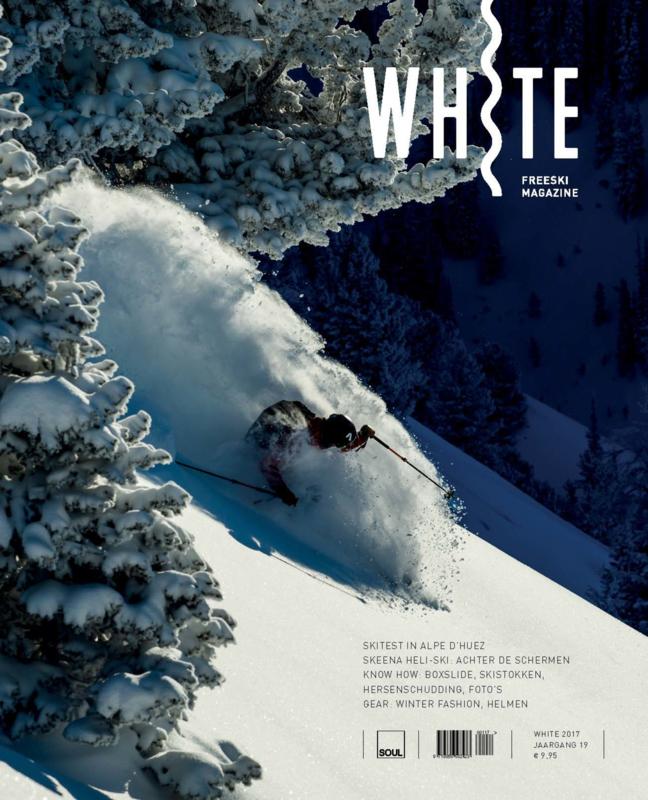 White freeski magazine 2017