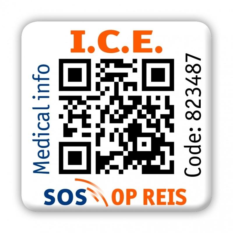 SOS International INFO Tag