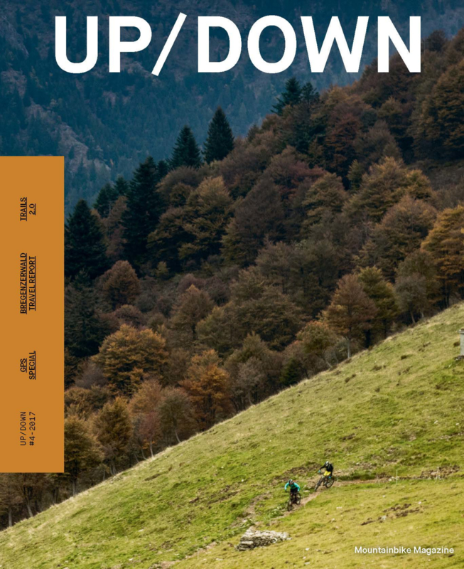 Up / Down mountainbike magazine nr 4 2017