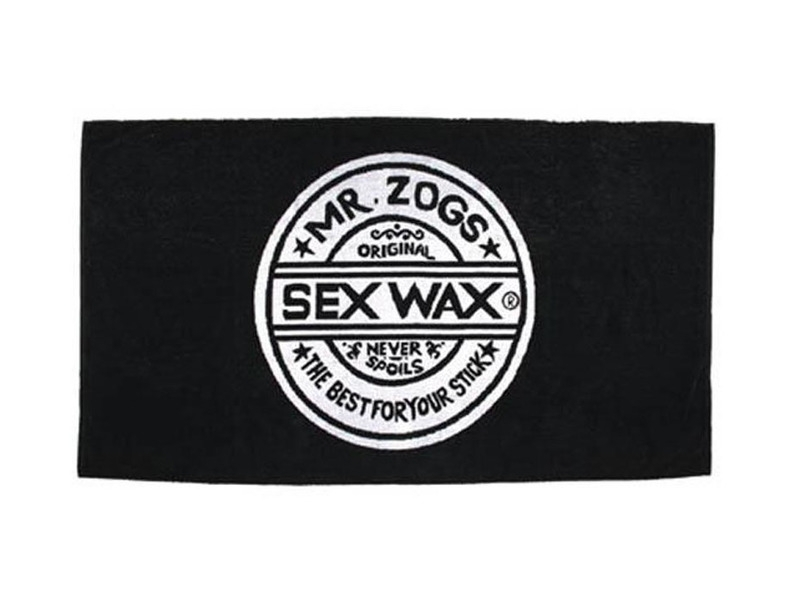 Sex Wax High Quality handdoek zwart