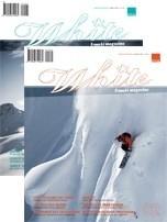 White freeski magazine