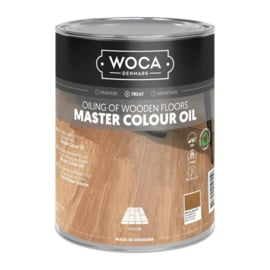 WoCa Master Colour Oil #102 Brazil Brown 1 liter