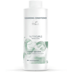 Wella NutriCurls Cleansing Conditioner For Waves & Curls 1000ml