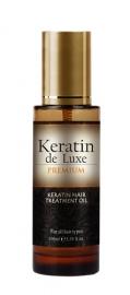 Keratin De Luxe Keratin Hair Treatment Oil 100ml