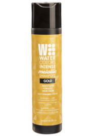 Tressa WaterColors Intense Metallic Shampoo Gold 250ml