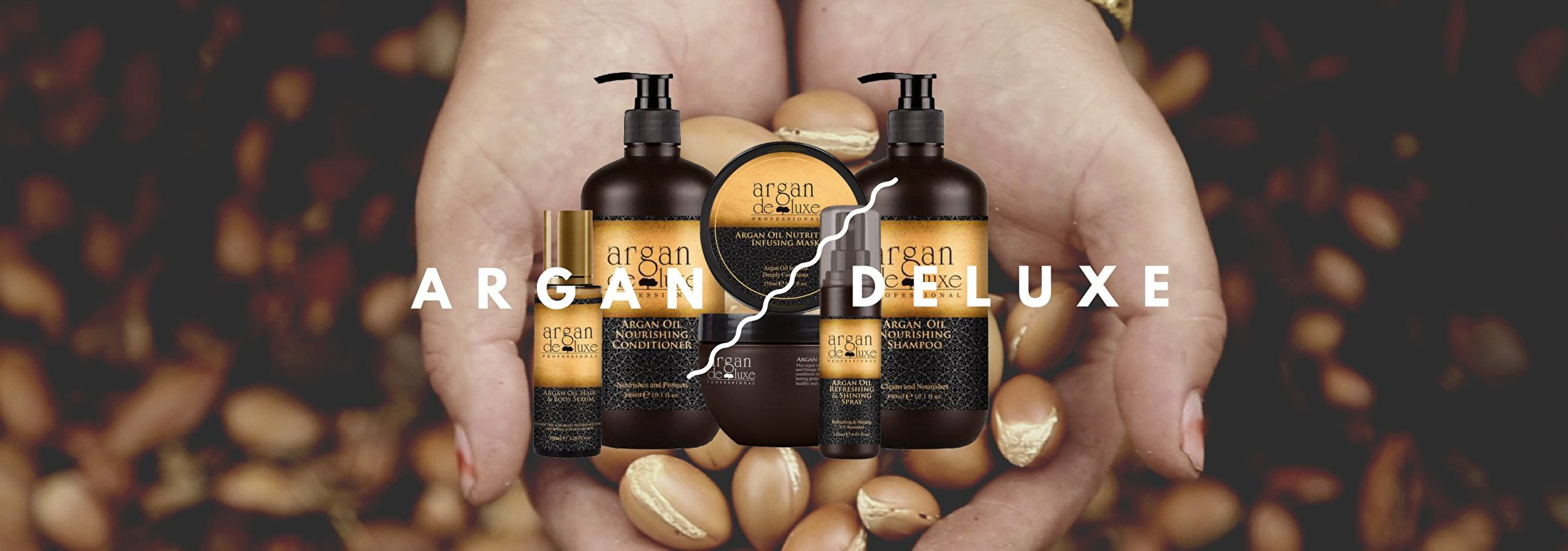Argan de luxe shampoo's