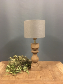 Houten Lampenvoet S