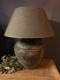 Lampenvoet XL Bruin