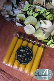Kaarsen oker geel