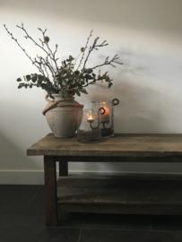 Doorleefde houten salontafel