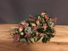 Toef met roosjes
