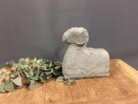 Stenen ram grijs