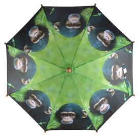 Aap / Chimpansee Kinderparaplu