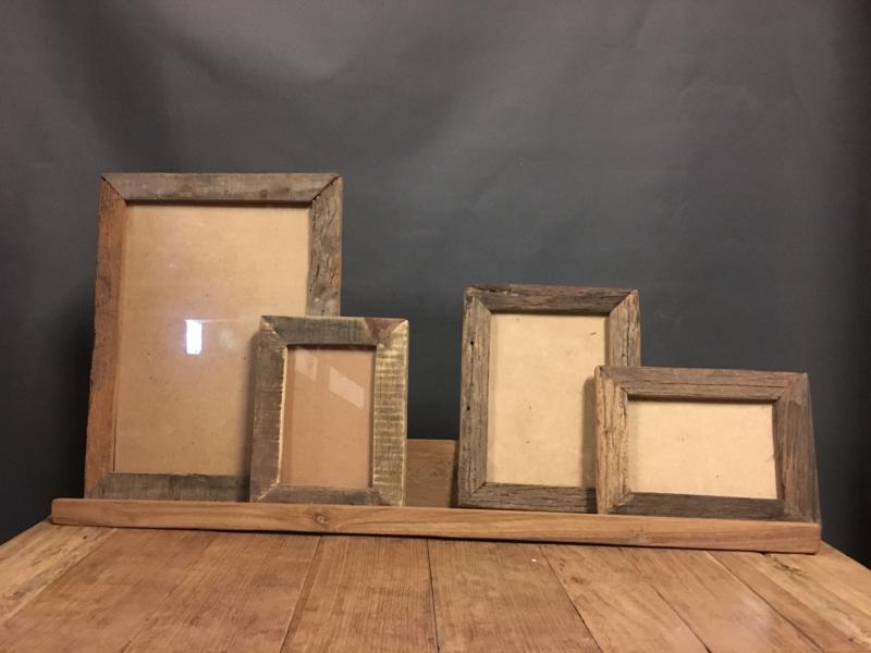 Houten Schilderijenplank